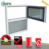 Ventilation Windows de spire d'inclinaison d'épreuve de bruit de carreau de triple de fibre de bois d'UPVC