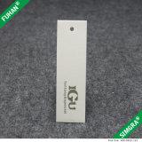 Étiquette du fabriquant de papier mate blanche de logo fait sur commande gentil