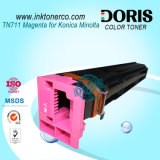 Tn711 Tóner copiadora de color para Konica Minolta Bizhub C654 C754 Copiadora