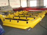 Barca di banana del pontone del PVC di Liya 3-7m 0.9mm Corea Inflabed