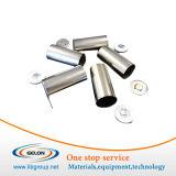 18650 Batterie-Edelstahl-Dosen und Deckel für Lithium-Ionenbatterie