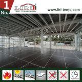 Große Lurxry Fußböden des doppelter Decker-Zelt-zwei mit Glasseitenwand