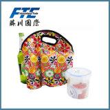 Imballaggio caldo del contenitore di stagno del pranzo della maniglia del neoprene