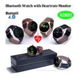 Impermeable reloj inteligente Bluetooth con monitor de ritmo cardíaco (K88H)