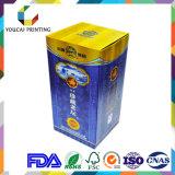 Heißer stempelnder Firmenzeichen-farbenreiches Drucken-verpackenwein-Papierkasten