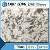 Bancadas da pedra de quartzo das lajes da pedra de quartzo da veia de mármore/pedra artificiais de quartzo