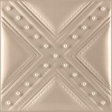 装飾の壁パネルを切り分ける3D効果PUの革