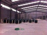 1830mm x 2500mm e maglie rete fissa rivestita della rete metallica del PVC Nylofor 3D di 50mm x di 200mm x di 5.00mm