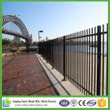 やりの上が付いている住宅の装飾用の鉄の塀