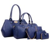 Самый последний большой мешок PU кожаный, повелительницы сумки PU 5in1 роскоши способа установленные кожаный