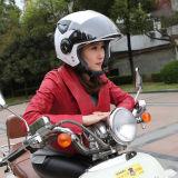 حاكّة عمليّة بيع تصميم جديدة نصفيّة وجه درّاجة ناريّة خوذات مع مزدوجة حافة زجّاجية [دوت/س] خوذات