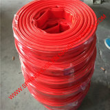 (Blau, Red, Yellow) PVC Layflat Hose für Irrigation