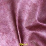Schöner Farbanstrich-Gefühl-Fußbekleidung-Zubehör synthetisches PU-Schuh-Oberleder-Leder