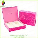 Caixa de presente cosmética de papel de empacotamento feita sob encomenda do armazenamento