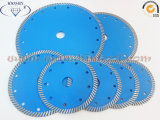 Turbo contínuo Diamond Saw Blade para Granite