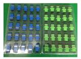 Adaptador de solo modo a una cara óptico del LC del adaptador de fibra de la buena calidad de la fuente