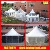 Tenda esagonale trasparente del Pagoda di esagono del tetto libero per la festa nuziale