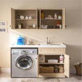 Новый пол стоя тщета ванны дома твердой древесины