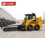 Pouvoir de Certifaction Hihg de la CE, système de régulation de manche, chargeur Ws75 de boeuf de dérapage de Fuwei