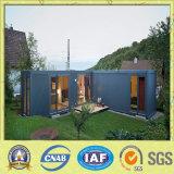 Casa modular pré-fabricada do recipiente com cozinha