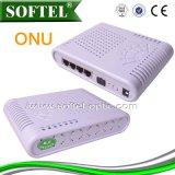 1pon WiFi ONU + cuatro 10/100m RJ45 WiFi portuario ONU