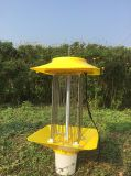 Agriculture Farm Using Outdoor Large Solar Powered Insect Killer Lamp
