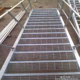 Горячая окунутая гальванизированная проступь лестницы стального адвокатского сословия Grating