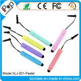 Pluma publicitaria en colores pastel de la aguja del lápiz del color de la pluma de la aguja para el equipo del panel de tacto