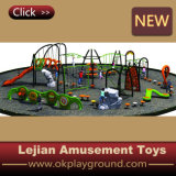 Neues Multi Play Children Outdoor Climbing Equipment für Public Park mit Slide