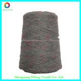 스웨터 (YF14190)를 위한 90% 폴리에스테 색깔 점 조악한 뜨개질을 하는 털실