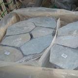 Fuori delle mattonelle di pavimentazione di pietra naturali dell'ardesia della maglia del pavimento (SMC-Y075)