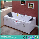 Cuba de banho acrílica do Whirlpool popular do Jacuzzi do retângulo com descanso (TLP-659)