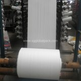 weißes Polypropylen gesponnenes Gewebe des Beutel-60GSM