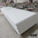Placa de superfície contínua acrílica de pedra de mármore artificial do material de construção