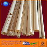 Op hoge temperatuur en Hoogstaand van Al2O3 van 85% Alumina Buis van China wordt gemaakt dat