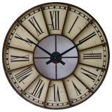 Antigüedad de la manera del metal del reloj de pared (IP-6890)
