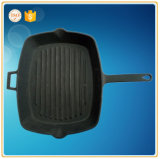 Iron Casting Cookware Sikllet in Vourise Taille