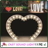 Zeichen-Zeichen LED-3D für Hochzeit/Stab-/Partei-/Ereignis-Dekoration