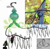 Système d'irrigation automatique de flèche d'égouttement pour les usines mises en pot (HT1117)