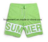 Os Shorts da praia da impressão da letra para o homem. 4 Shorts da placa da tela da maneira