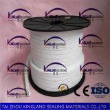 (KLP211) Embalaje trenzado de PTFE de la glándula pura del Teflon para la válvula y la bomba
