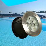 9W LED Unterwasser-BADEKURORT Swimmingpool-Licht