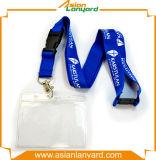 Fördernde Identifikation-Kartenhalter-Abzuglinie mit Sicherheits-Klipp