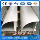 Perfis de alumínio anodizados brancos de creme de 6000 séries