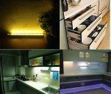Mais recentes 10 LED IR Sensor de movimento infravermelho Night Light Detector Lâmpada de tubo sem fio Cozinha Wardrobe Armário Closet Cabinet Light
