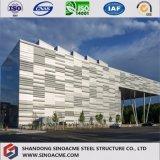 Estrutura de aço pesado Edifício comercial para escritório de trabalho