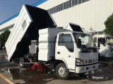 Isuzu 5 CBMの通りのきれいな道掃除人のトラック
