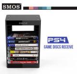 Titular SMOS Multifuncational juego de discos Torre de almacenamiento para PS4