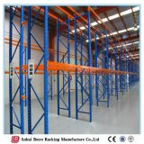 中国の倉庫装置パレットラック直立した保護装置