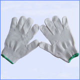 Guanghzou 공급에서 장갑 일 장갑이 많은 면에 의하여 뜨개질을 했다